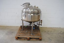 Pharma Procip 150 Litre Jacketed Mixing Vessel D.O.M 2000 S/N: T1087/1