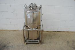 100 litre Stainless Steel Pressure Vessel