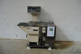 Aniritsu Checkweigher System Model: KW62A1 with Data Printer S/N:080695