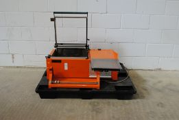 Quick Pack Ltd Model-3458 Semi Automatic Shrink Wrapping Machine Min:75 V.220/240 IPH KW-3.25 HZ.