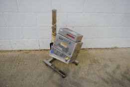 Lock Model: Metal-chek 9 Metal Detector System S/N: 18084