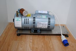 Gast Model: 1423-101Q-G626X Rotary Vacuum Pump Type: 5KC48PN0202AX