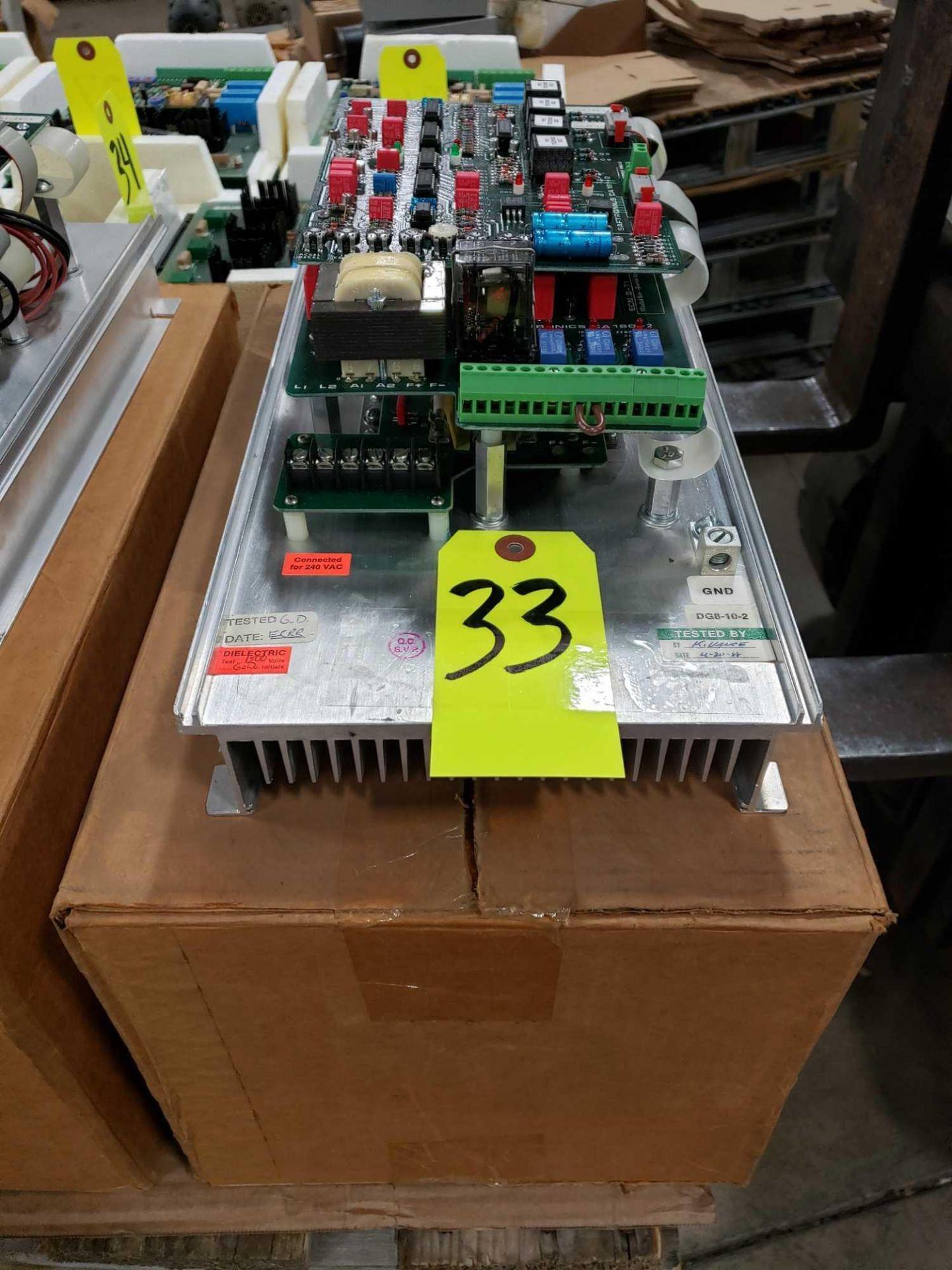 Lot 33 - Saftronics 2hp drive model DG8-10-2. New in box.