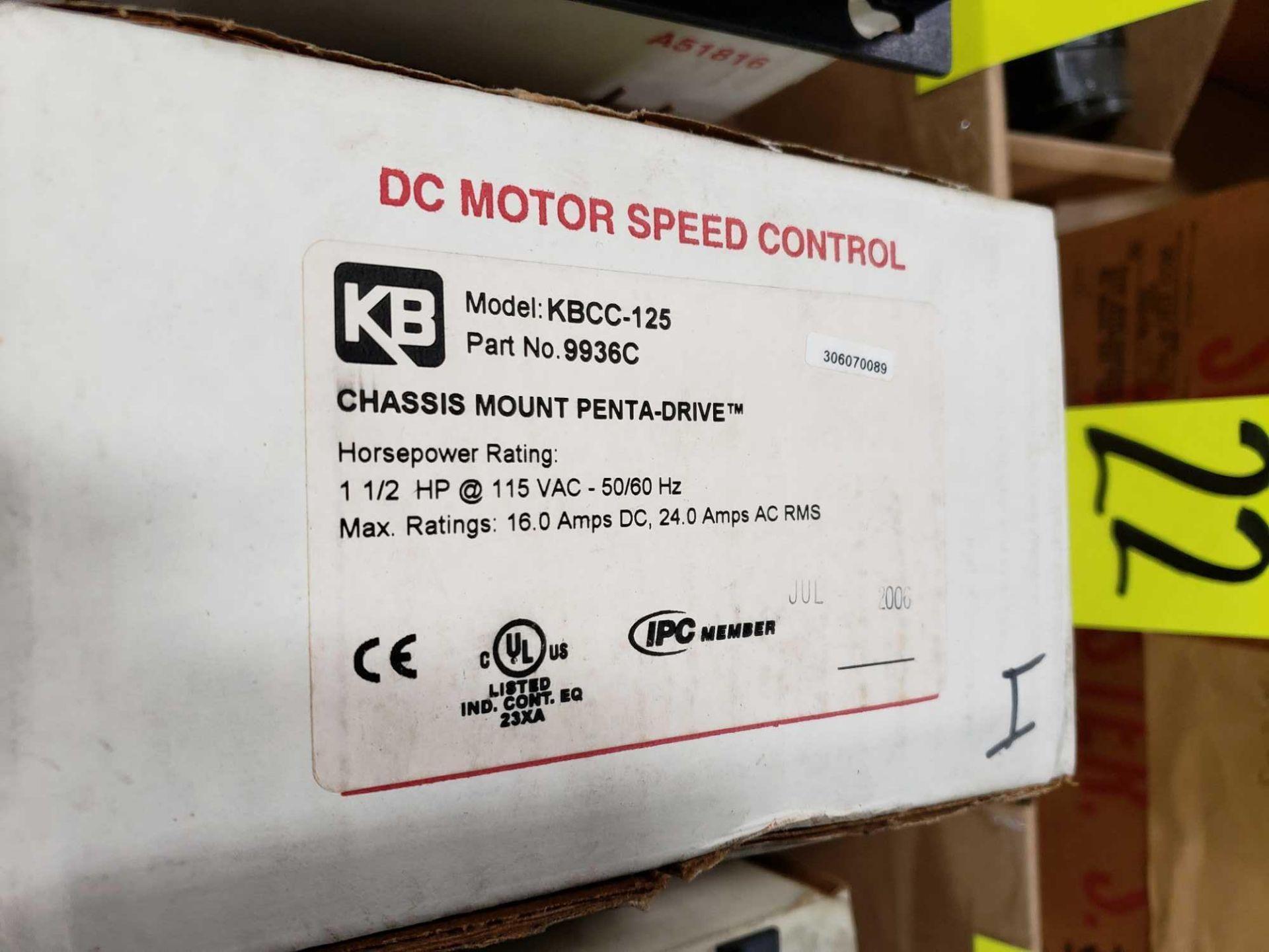Lot 22 - KB Penta Power reversing controld drive. Model KBCC-125, part 9936ED. New in box.