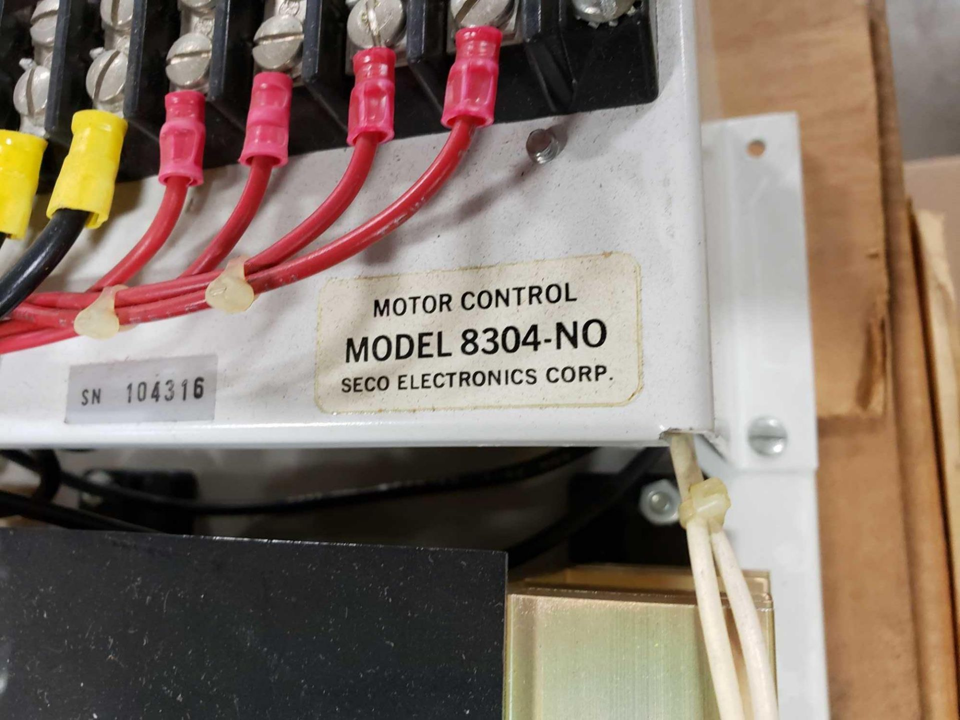 Lot 24 - Seco Electronics model 8300 SCR motor control part 8304-N0.. New in box.