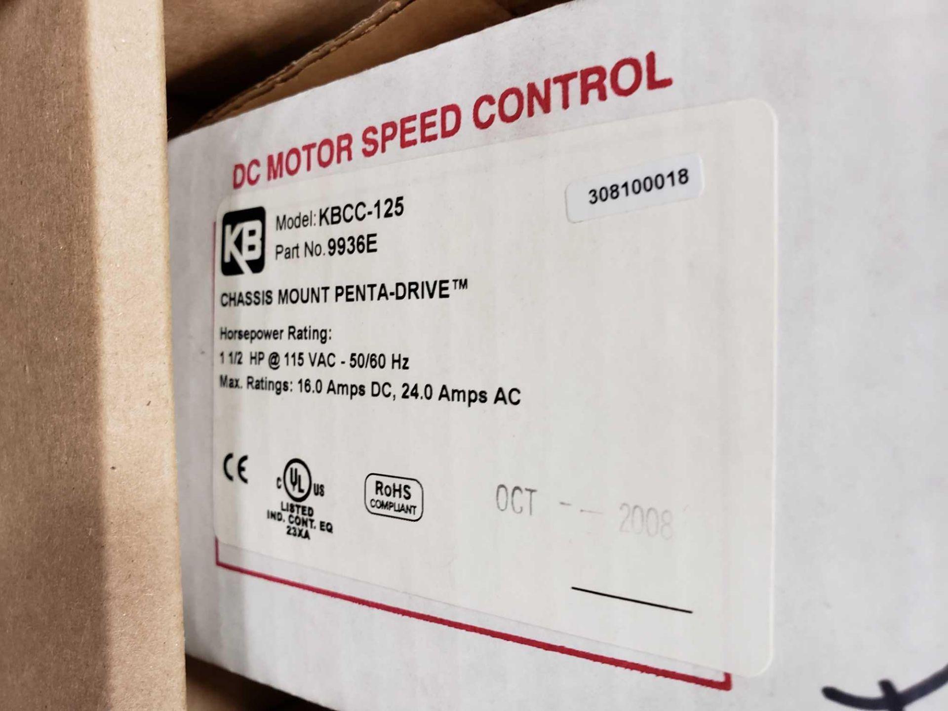 Lot 21 - KB Penta Power reversing controld drive. Model KBCC-125, part 9936ED. New in box.