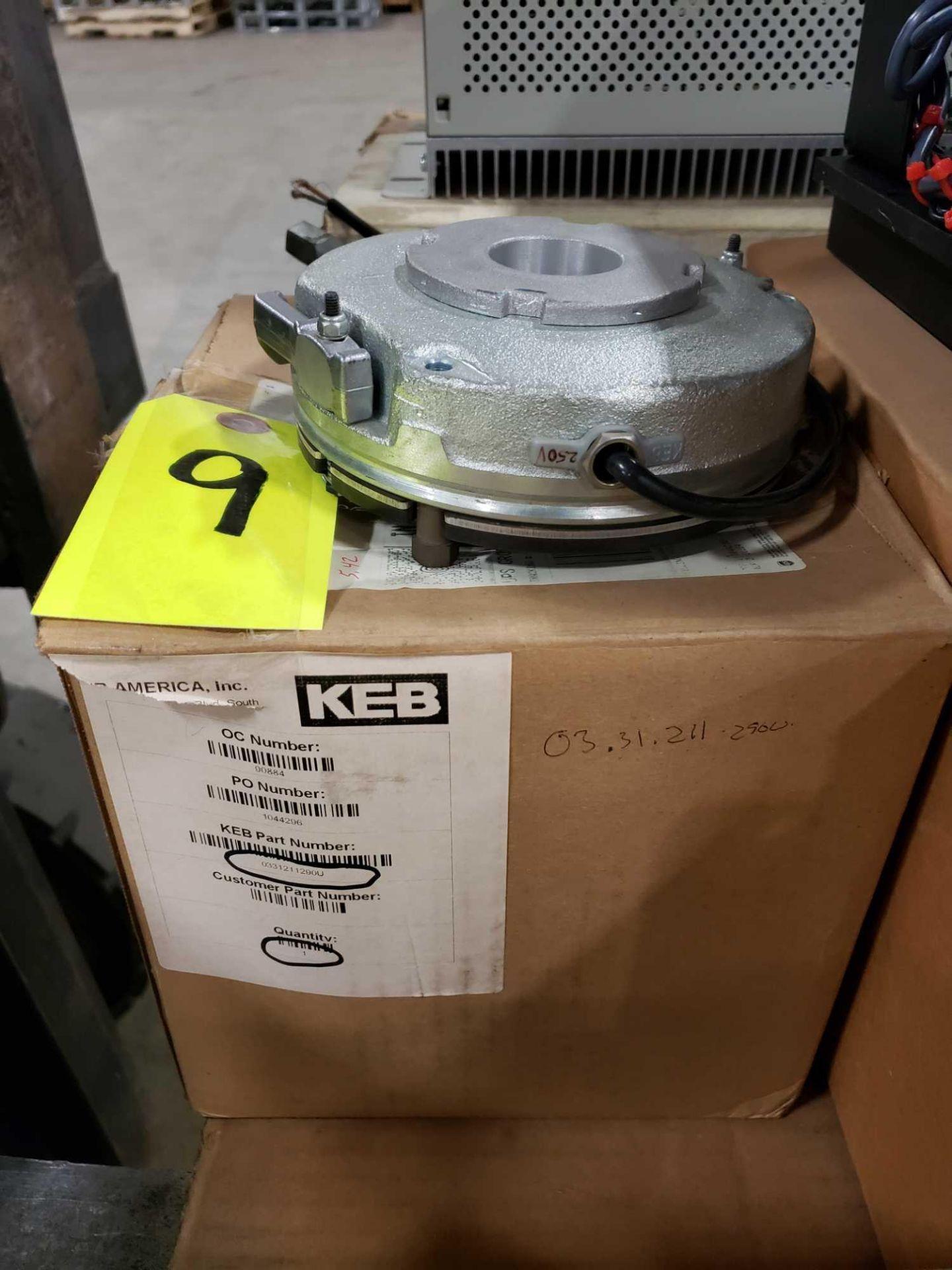 Lot 9 - KEB brake model 0331211290U. New in box.