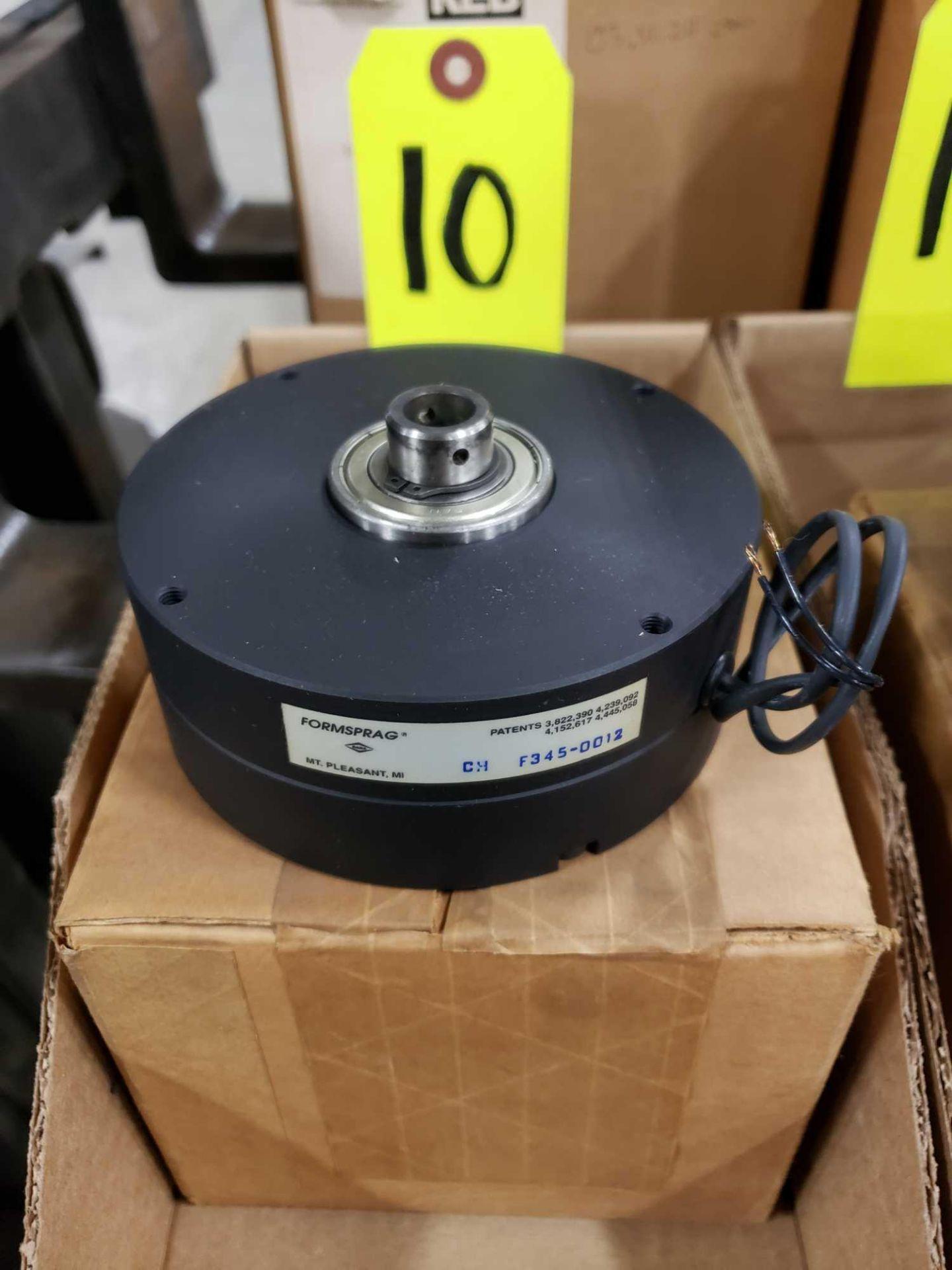 Lot 10 - Formsprag Magpowr sofstep model PSB-70/90V magnetic partical clutch brake. New in box.