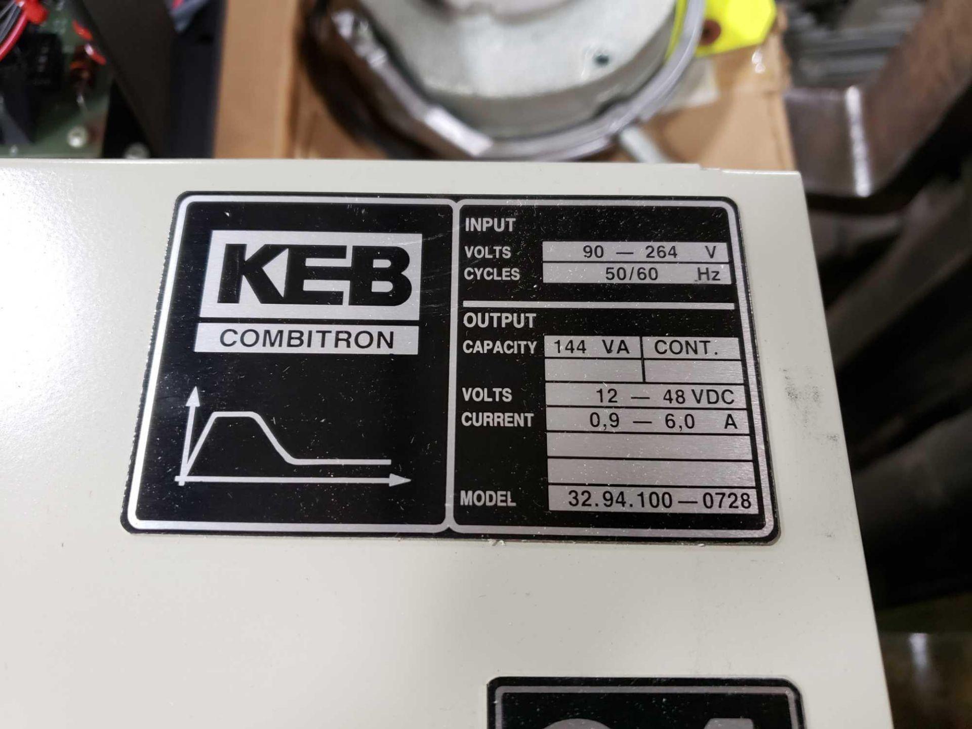 Lot 3 - KEB Combitron drive model 32.94.100-0728. 90-264v input, 12-48vdc output. New in box.