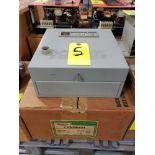 GE magnetic controller reversing contractor CR209B104 Nema size O, nema 1 enclosure. New in box.