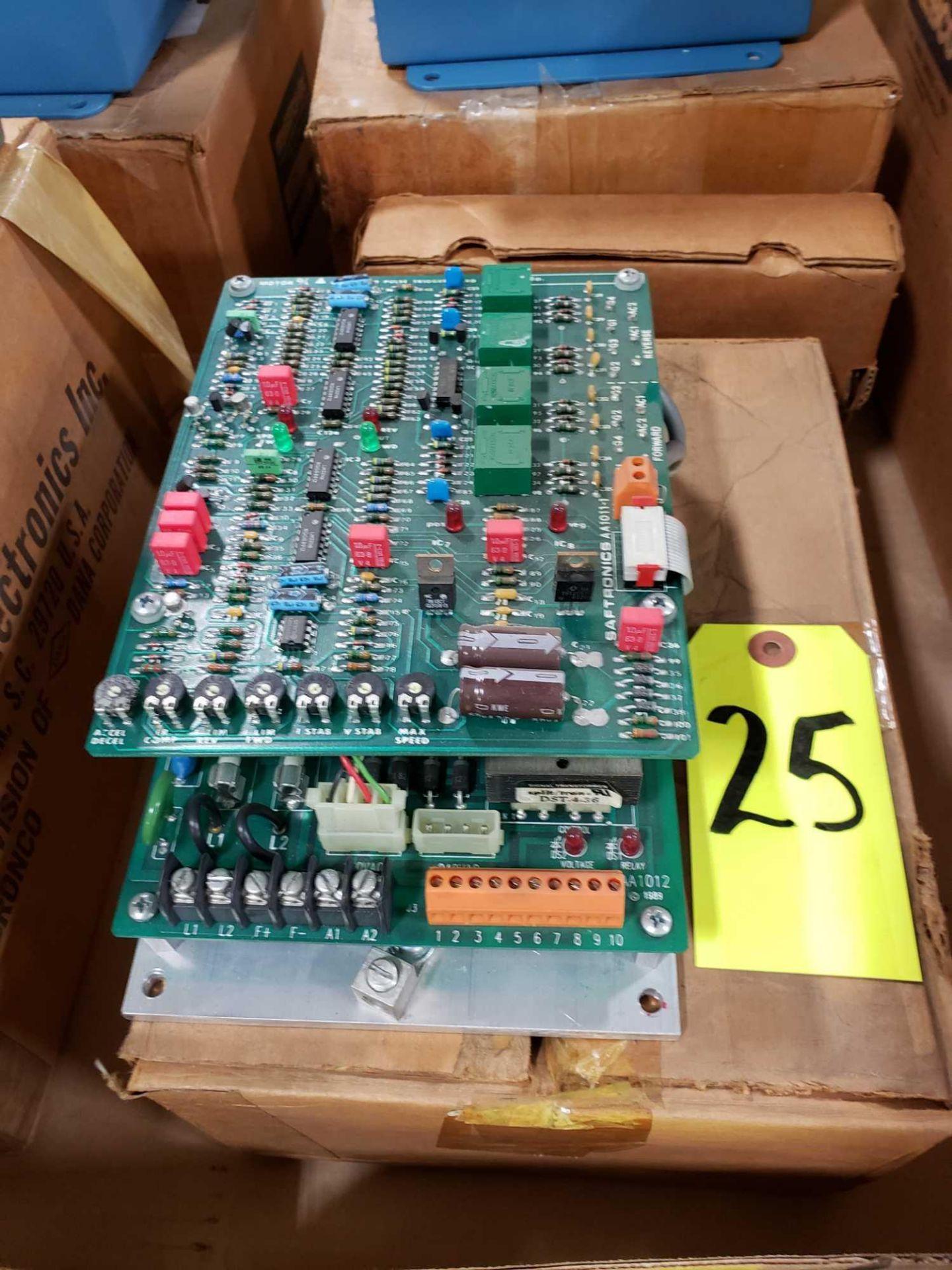 Lot 25 - Saftronics model DF8-10, dc drive. New in box.