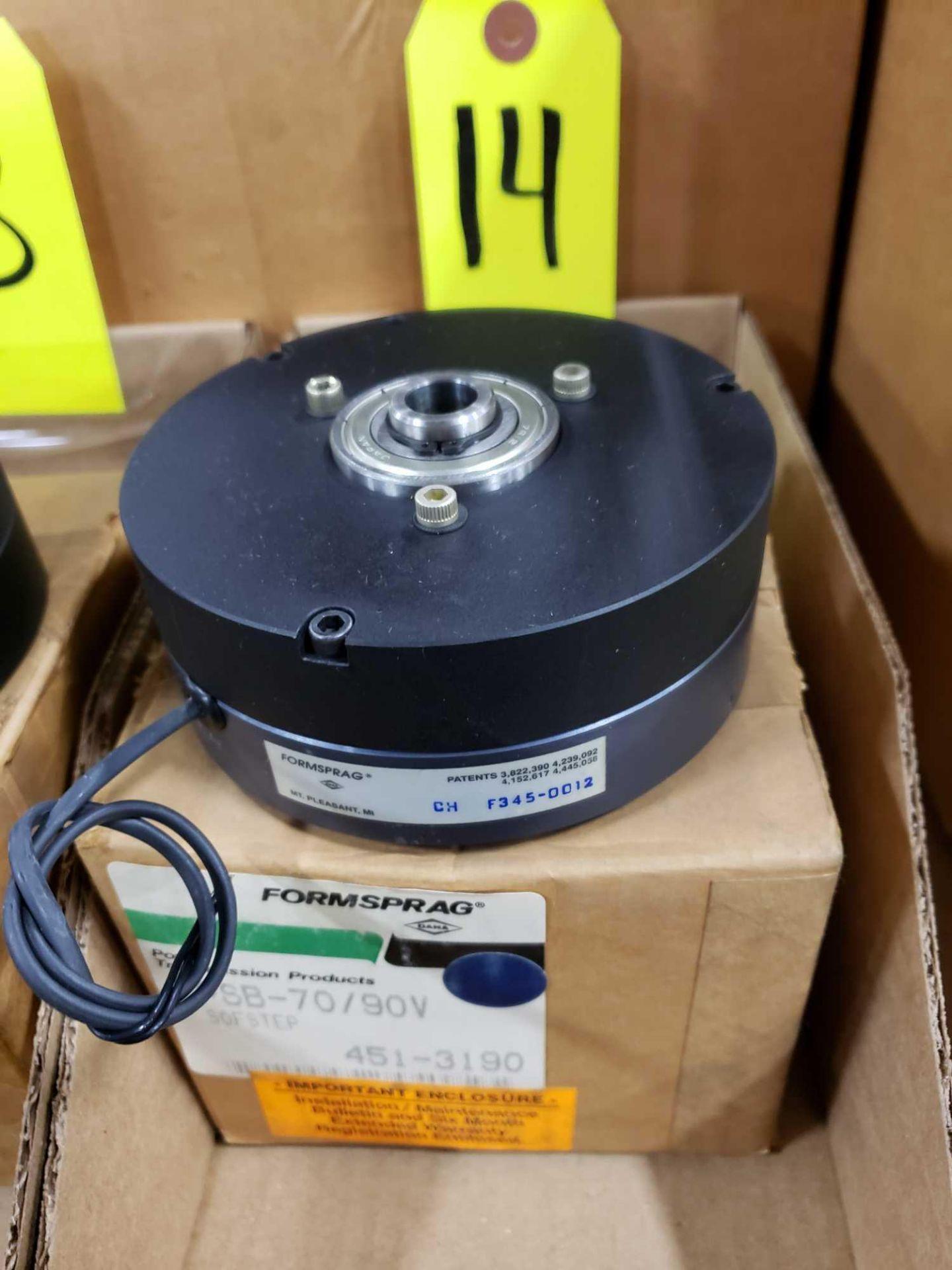Lot 14 - Formsprag Magpowr sofstep model PSB-70/90V magnetic partical clutch brake. New in box.