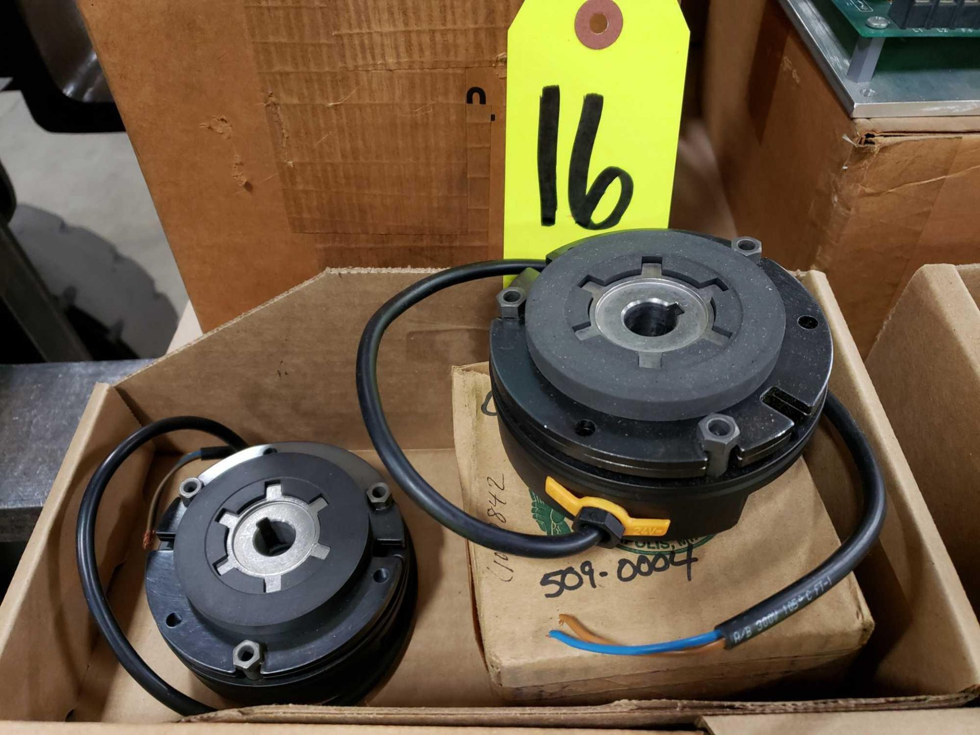 Lot 16 - Qty 2 - Clutch brakes as pictured. New.