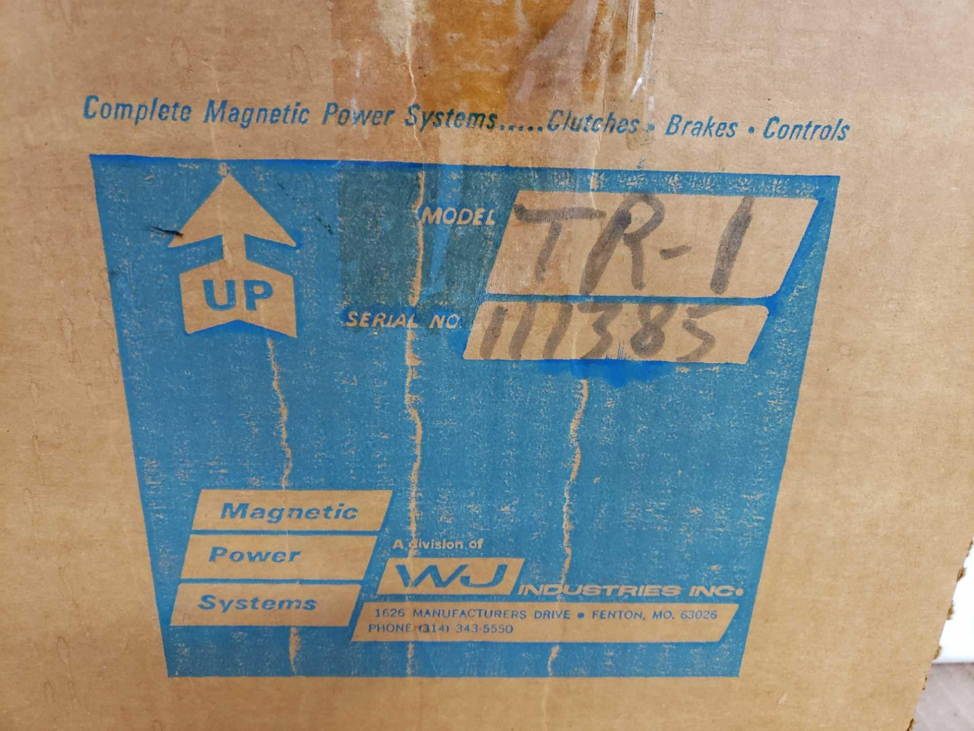 Lot 31 - Magpowr magnetic power systems model TR-I tension readout. New in box.