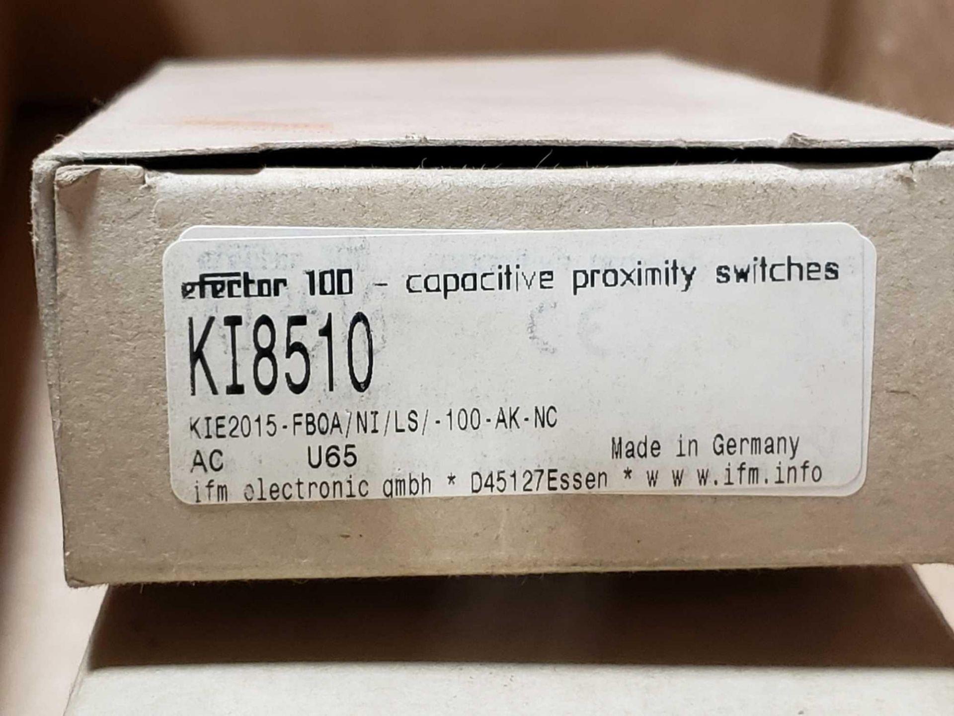 Lot 44 - Qty 2 - Efector proximity switch model KI8510. New in box.