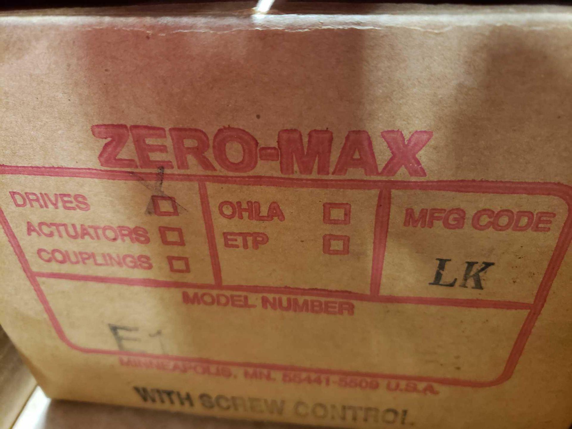 Lot 25 - Zero-max gearbox model E1. New in box.