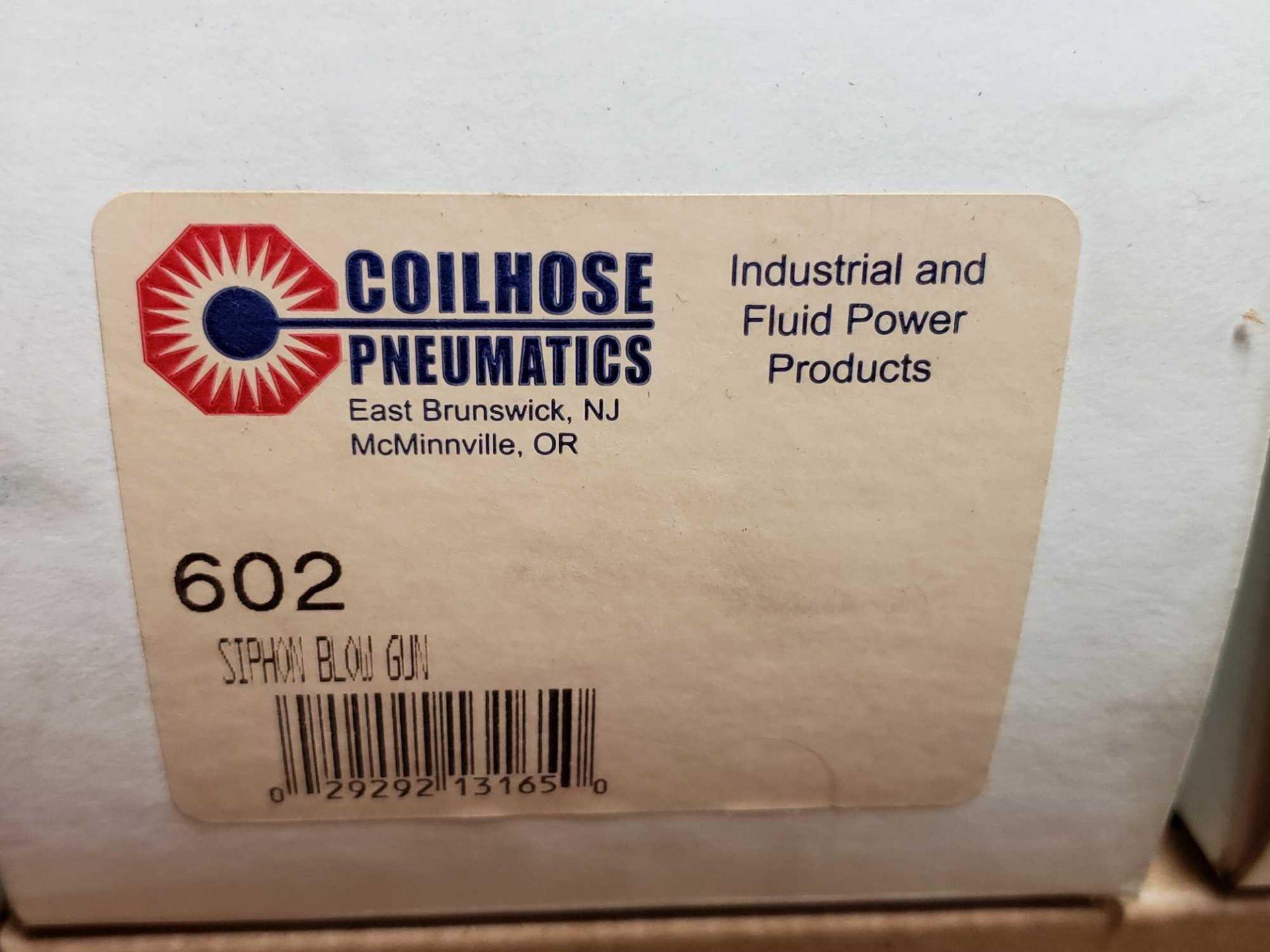 Lot 38 - Qty 4 - Coilhouse Pneumatics model 602 model blow gun. New in box.