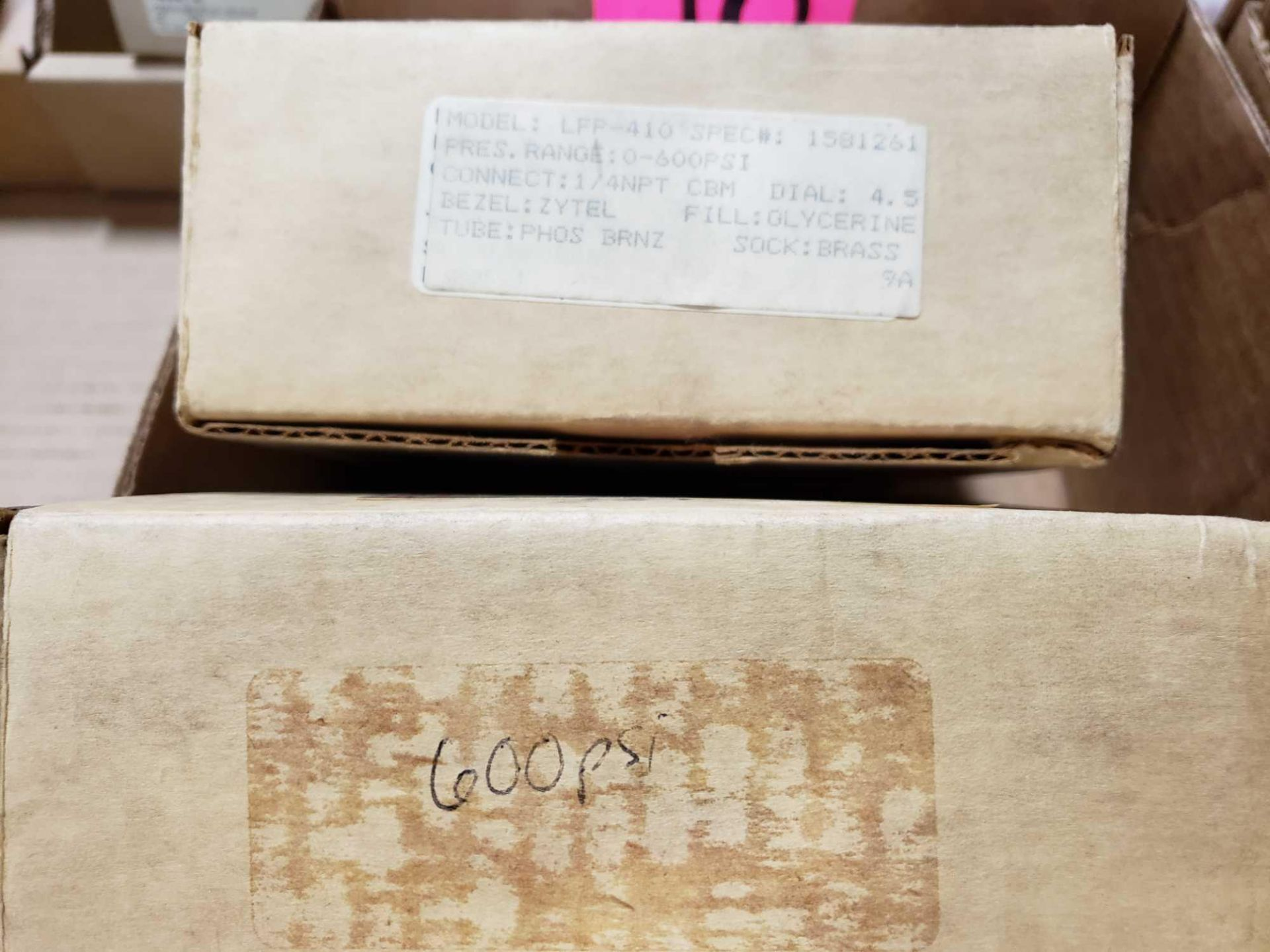 Lot 48 - Qty 4 - Span Instruments gauges. New in boxes as pictured.