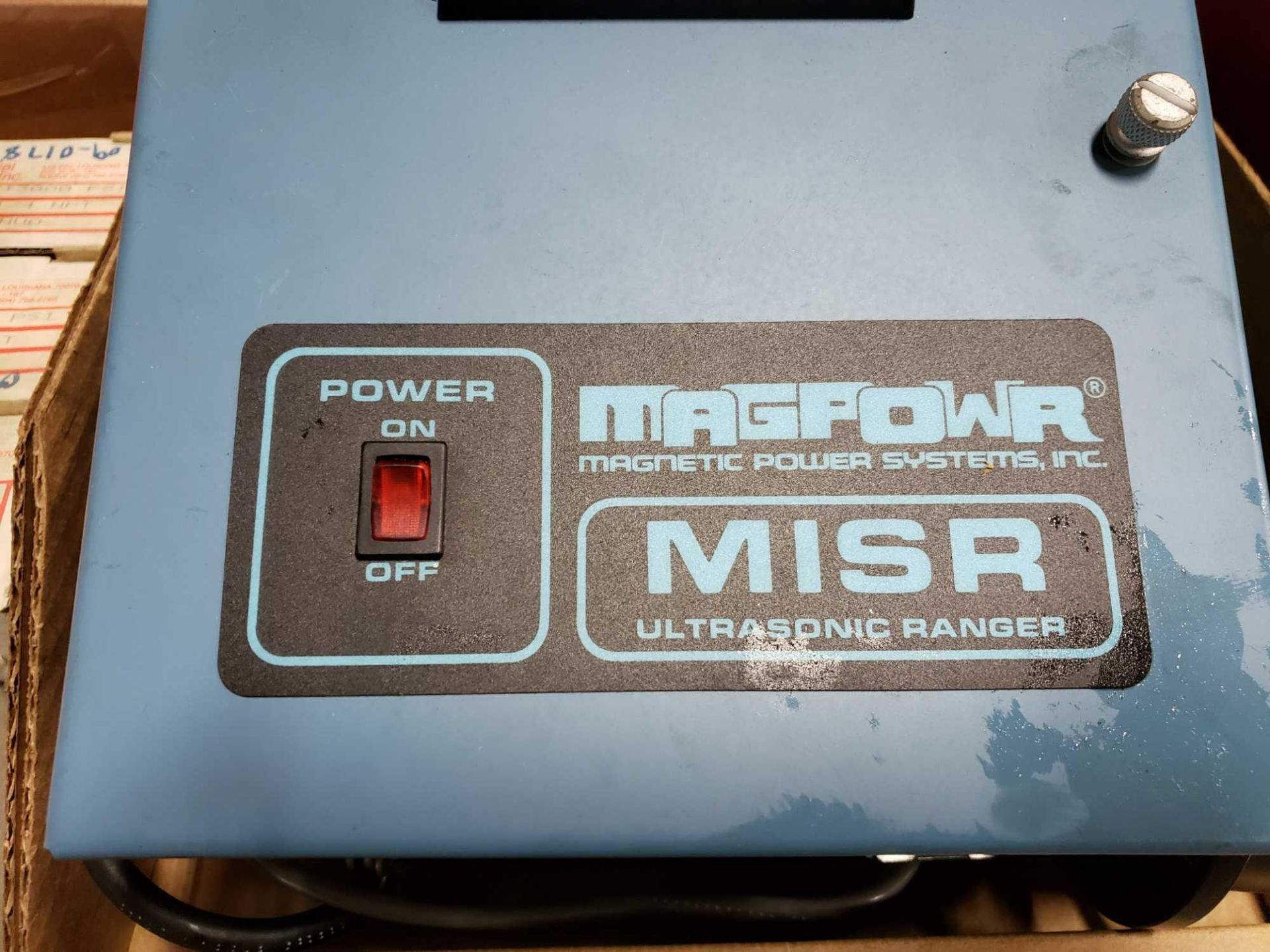 Lot 16 - MagPowr controller model MISR ultrasonic ranger.