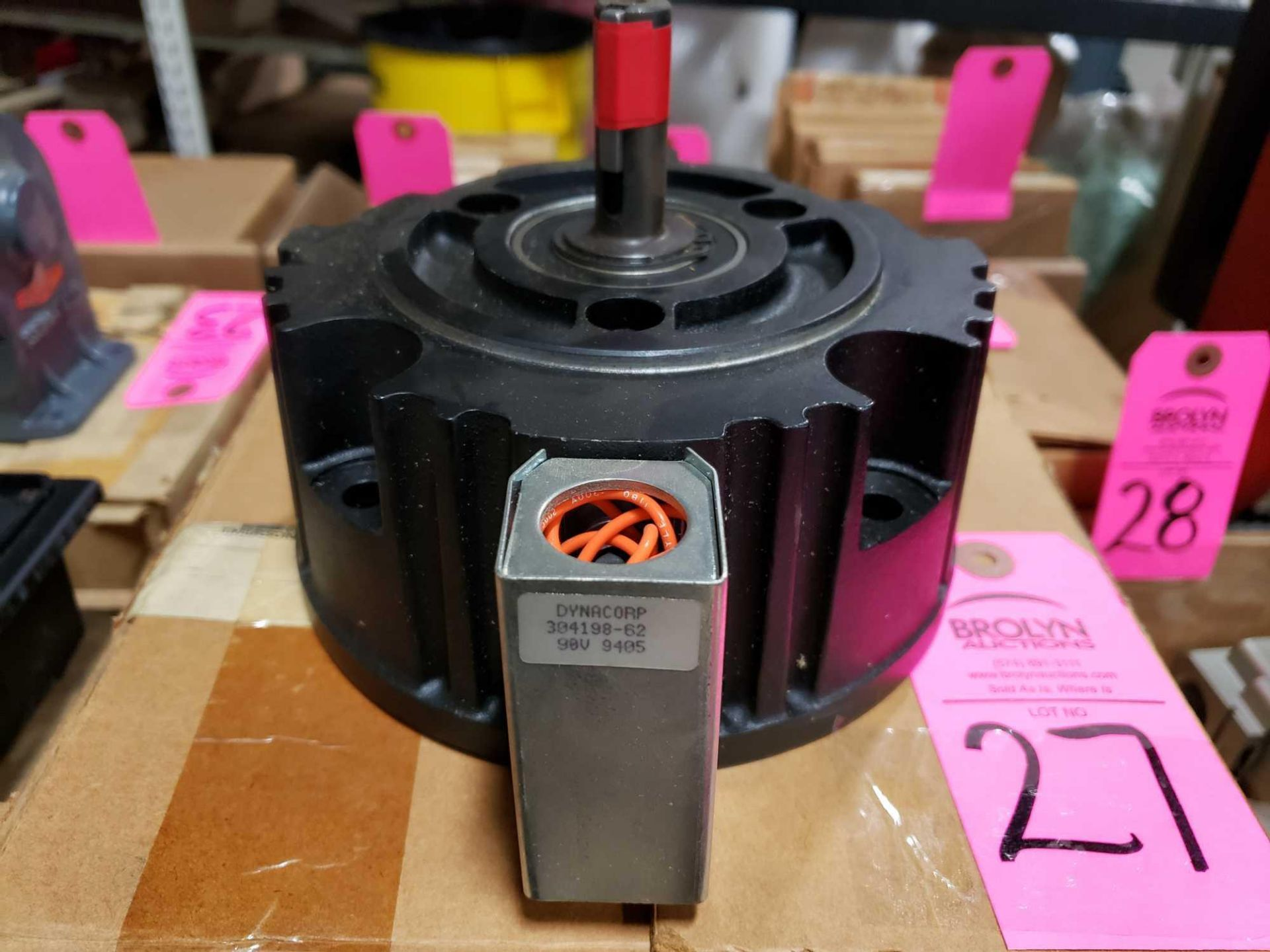Lot 27 - Dynacorp brake model 304198-60, 90v. New in box.
