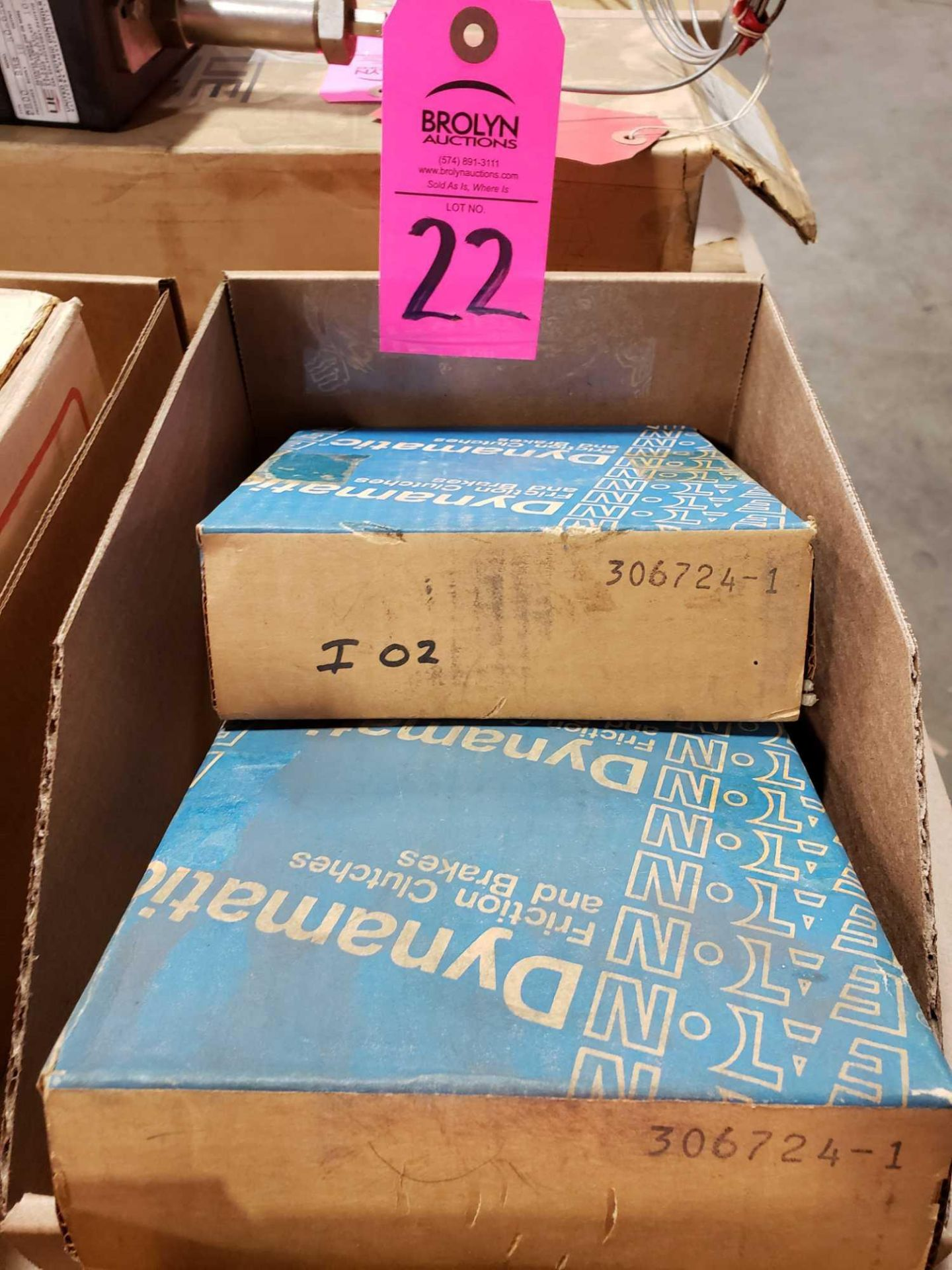 Lot 22 - Qty 2 - Dynatorq parts as pictured. New in box.