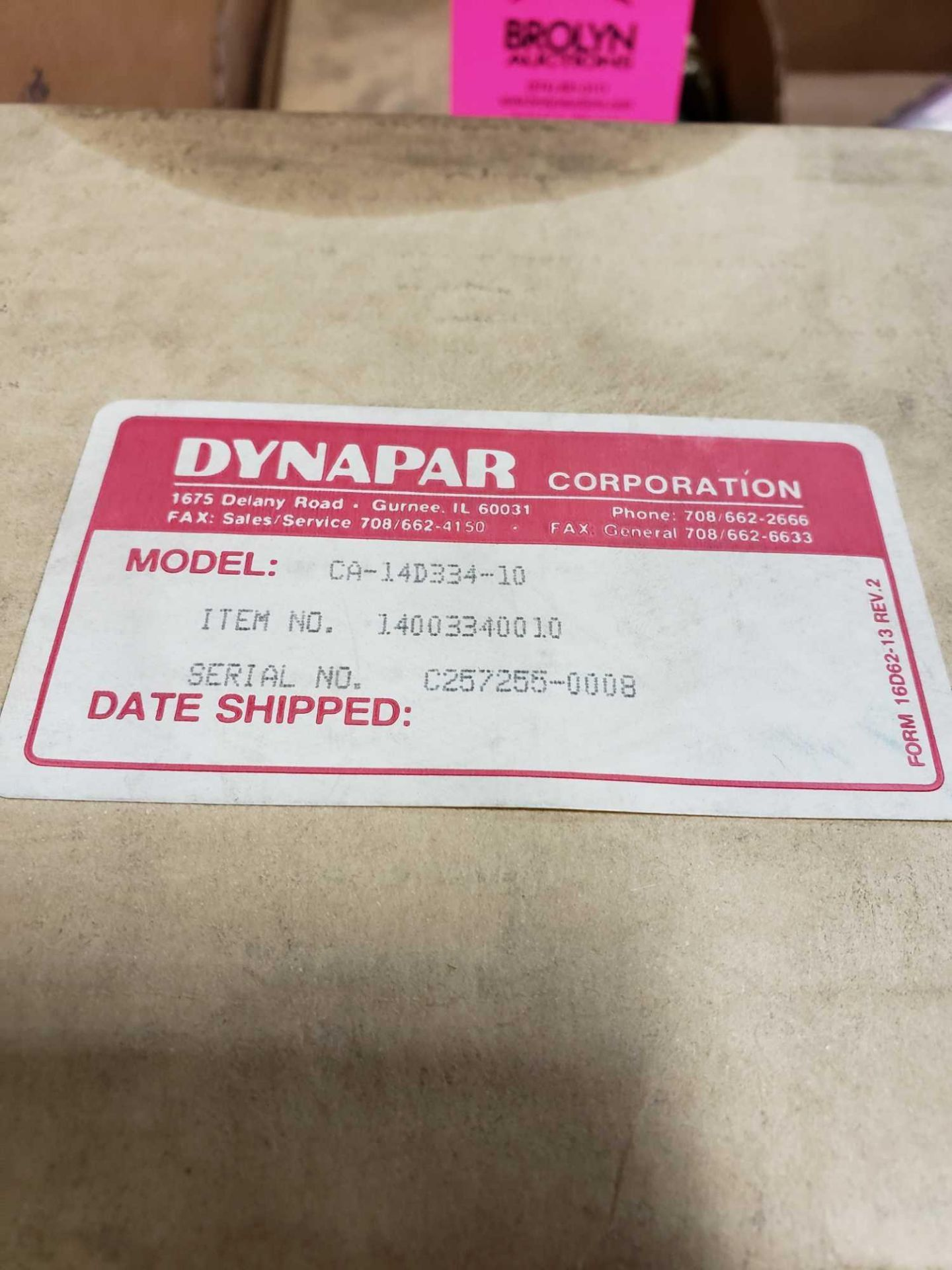 Lot 34 - Qty 5 -Dynapar parts new in box as pictured.