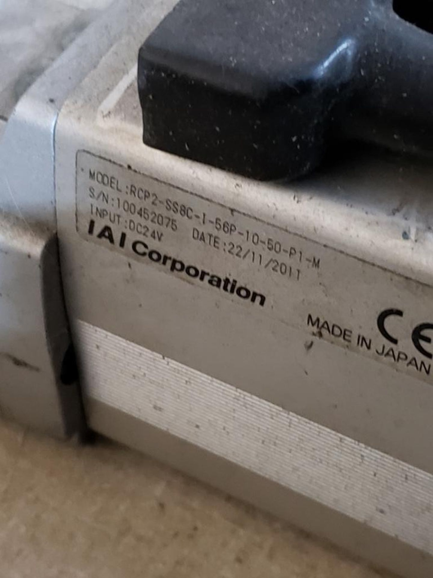 Lot 177 - Qty 2 - IAI linear actuator model RCP2-SS8C-1-56P-10-50-P1-M.