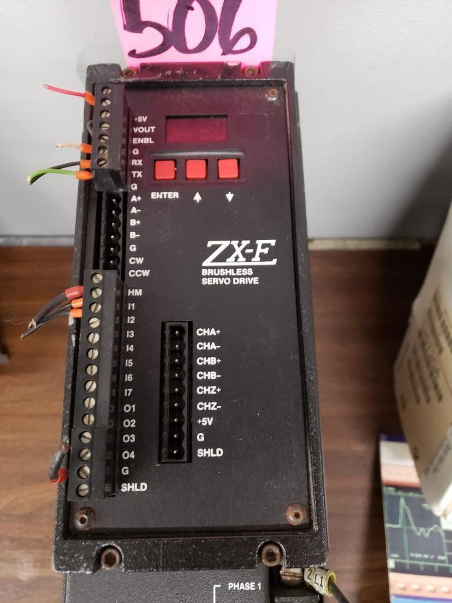 Lot 506 - Parker Compumotor drive model ZXF600-Drive-240V.
