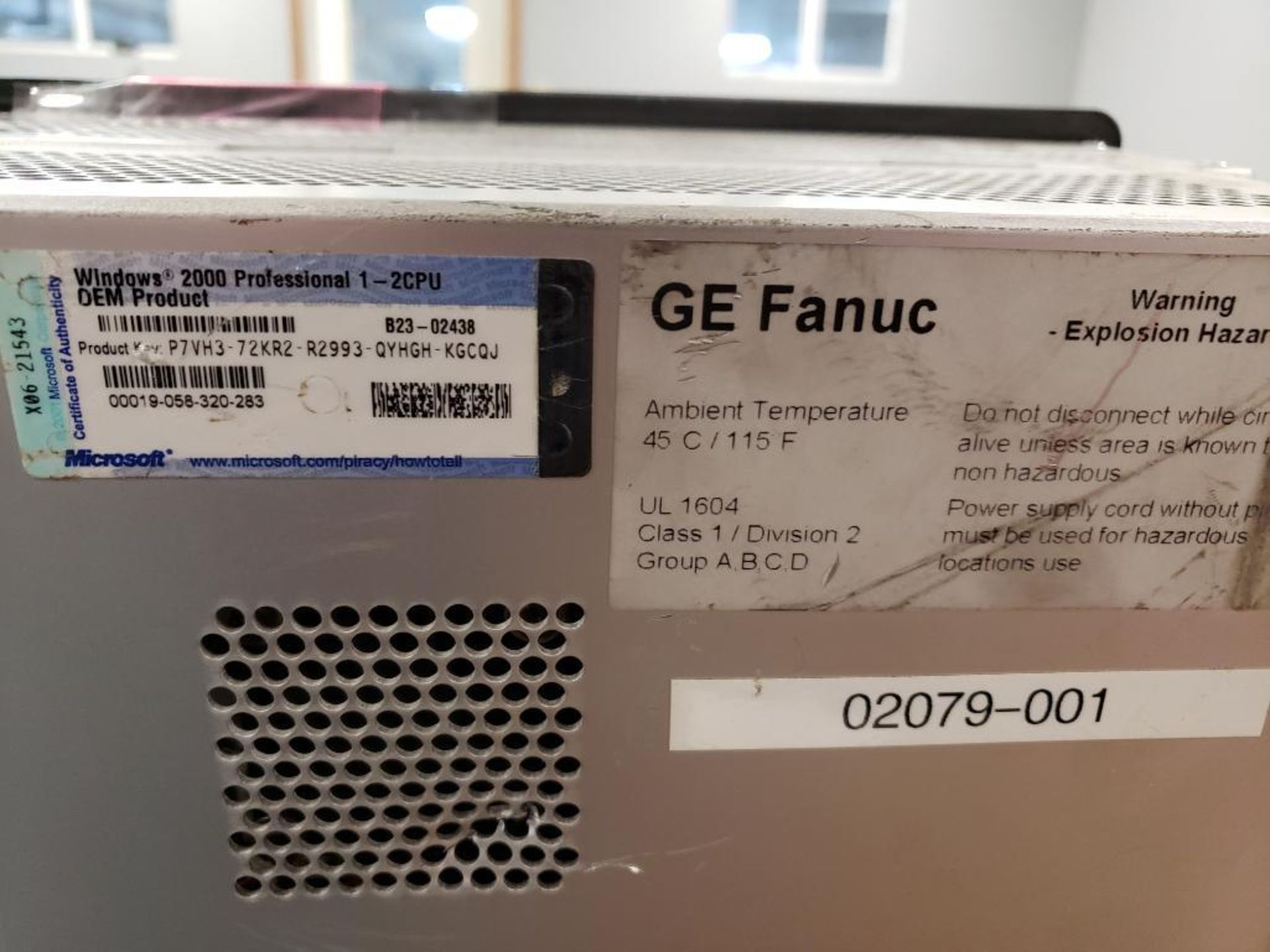 Lot 515 - GE Fanuc Complicity Station. Part number 44A751082-012R03.