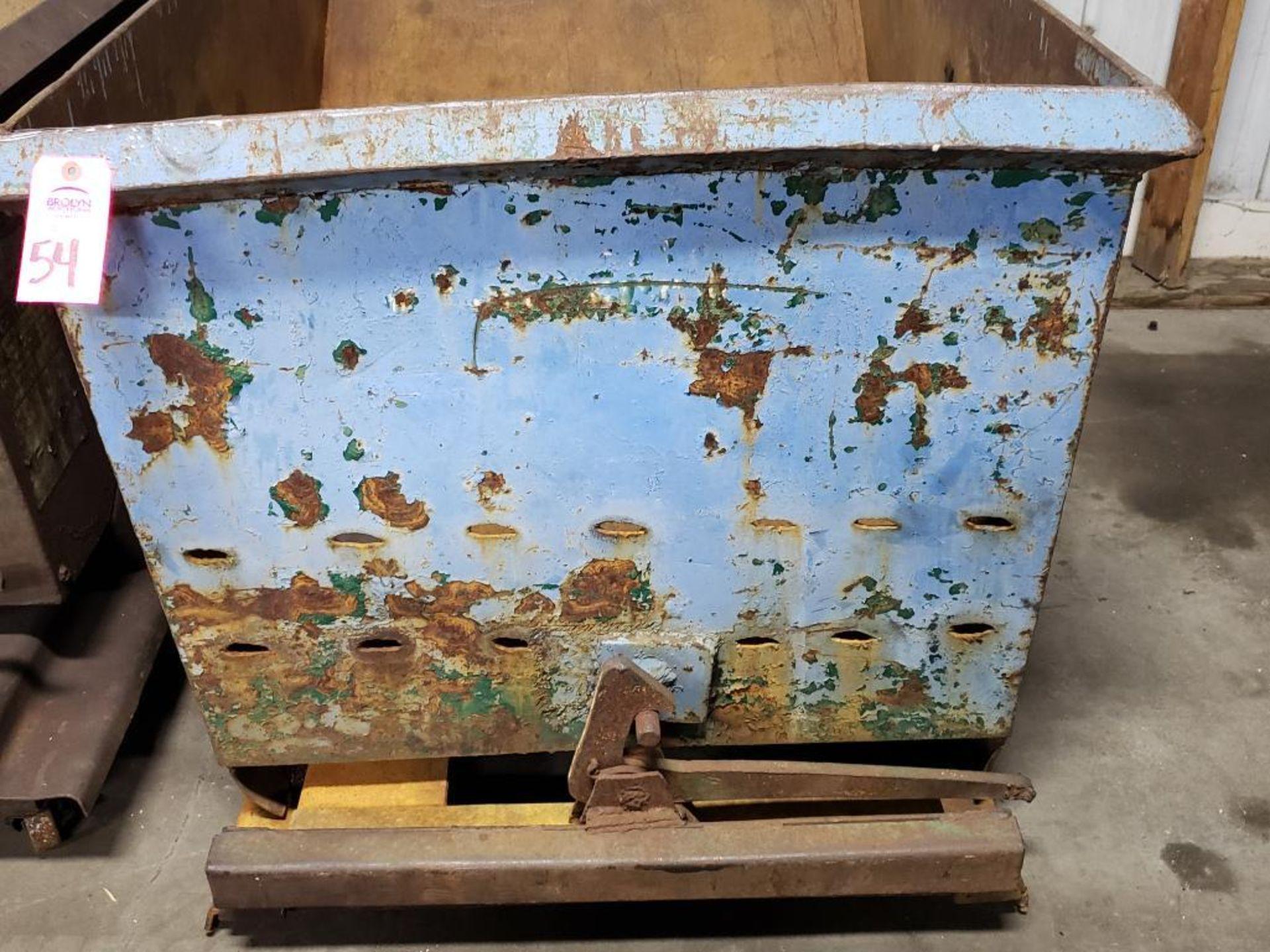 Lot 54 - Self dumping hopper.