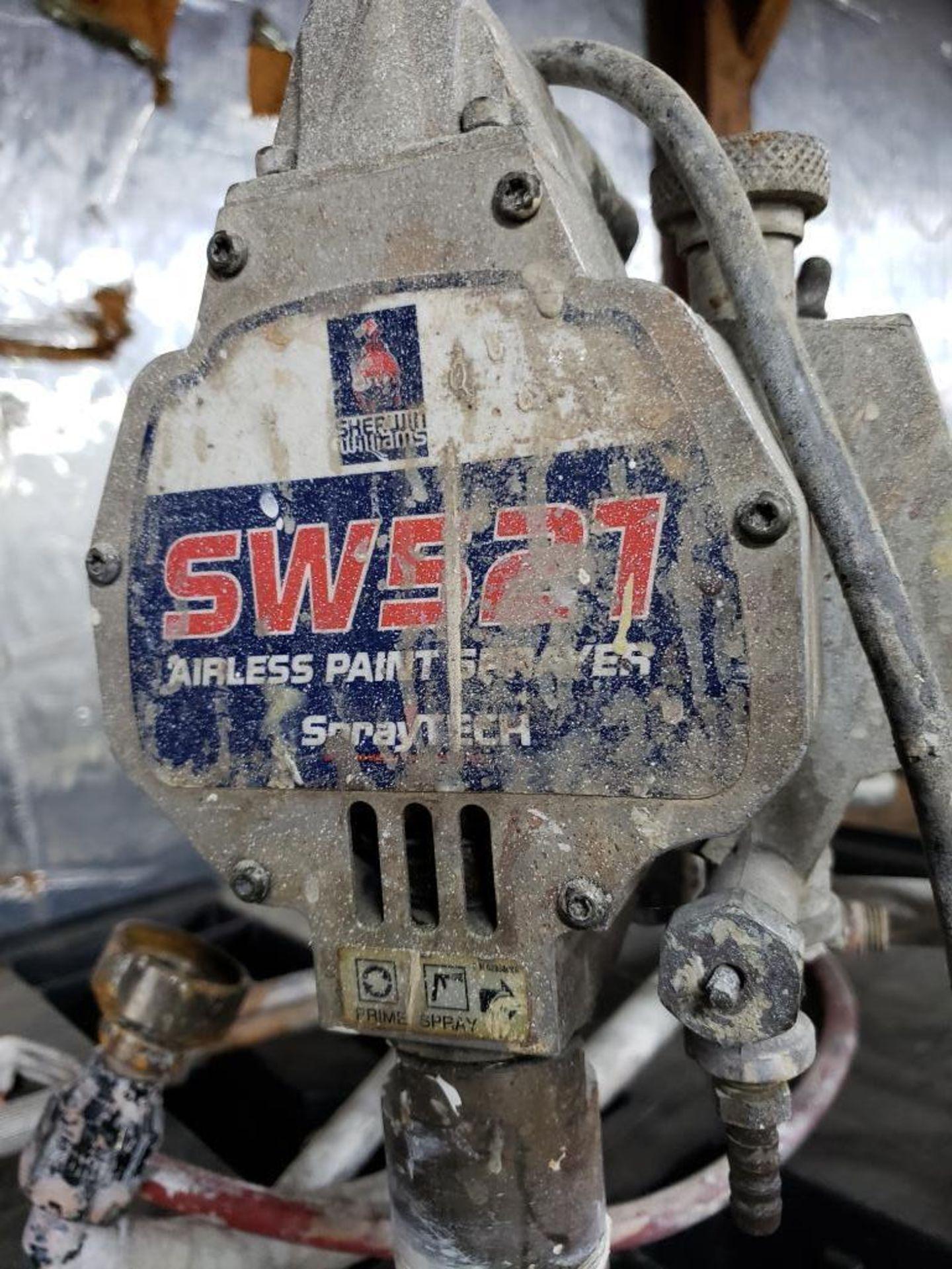 Lot 153 - Sherwin Williams Spraytech airless paint sprayer. Model SW521.