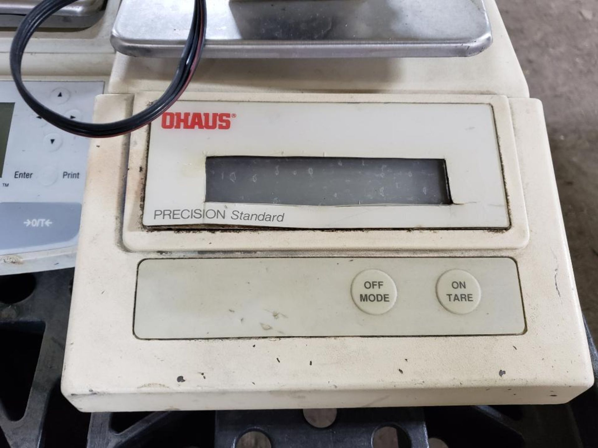 Lot 549 - Qty 3 - Ohaus scales.