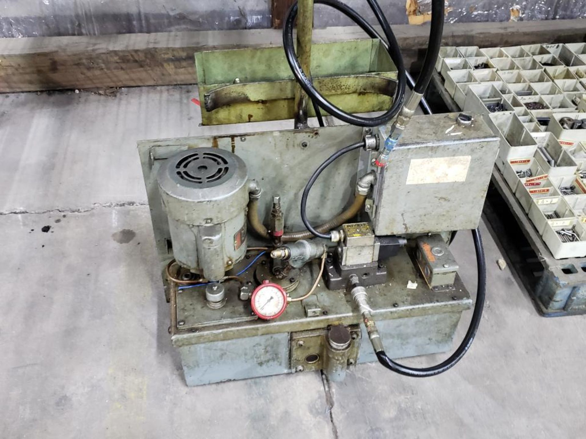 Lot 147 - Hydraulic filtration pump. Single phase 115v.