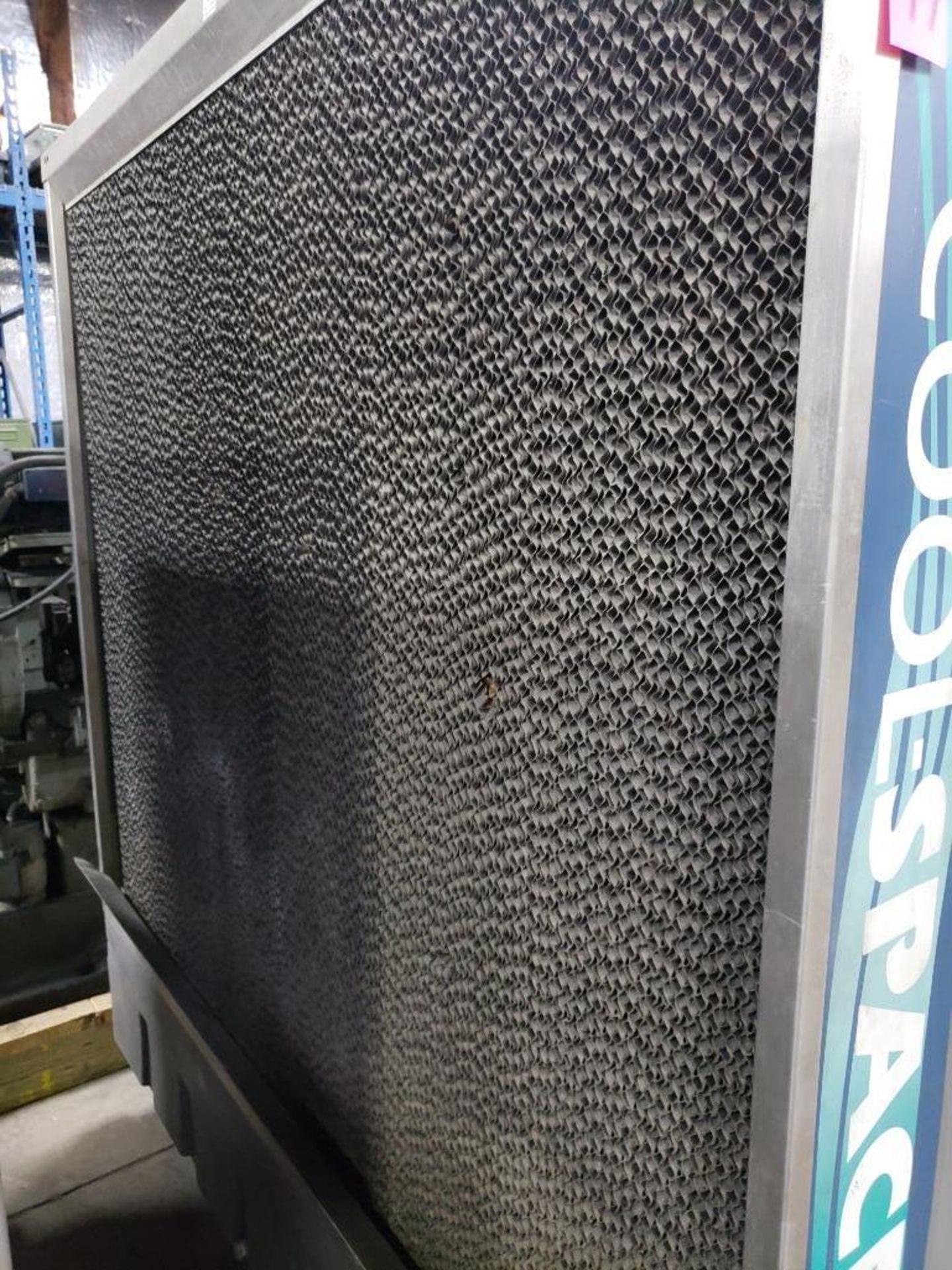 Lot 77 - Cool space portable evaporative cooler model CS5-48-2B. single phase 115v. Mfg Date 08/12.