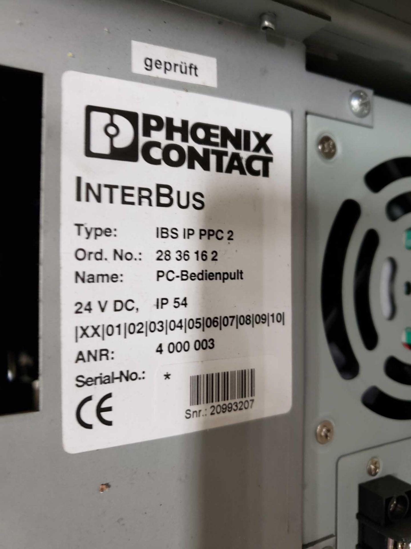 Lot 19 - Phoenix Contact Interbus Operator inteface Type IBS-IP-PPC-2.