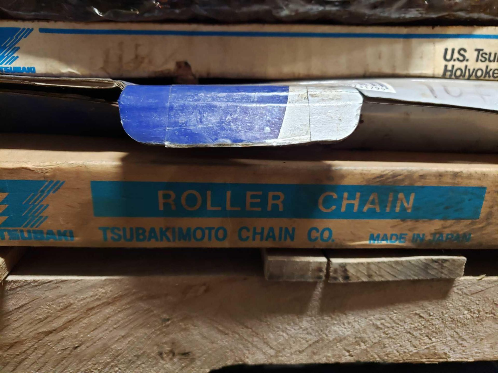 Lot 16 - Qty 5 - Assorted roller chain. New as pictured.