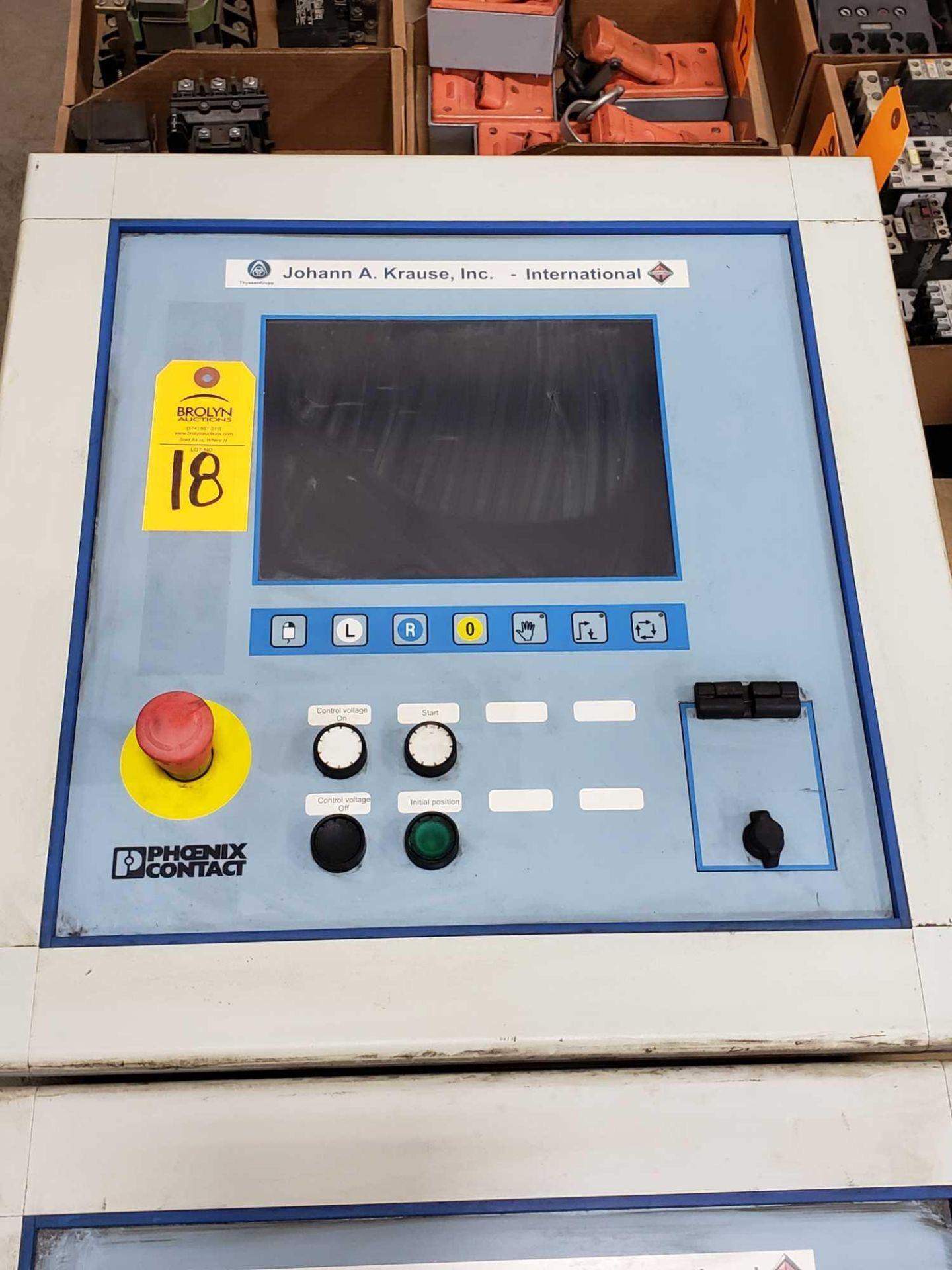 Lot 18 - Phoenix Contact Interbus Operator inteface Type IBS-IP-PPC-2.