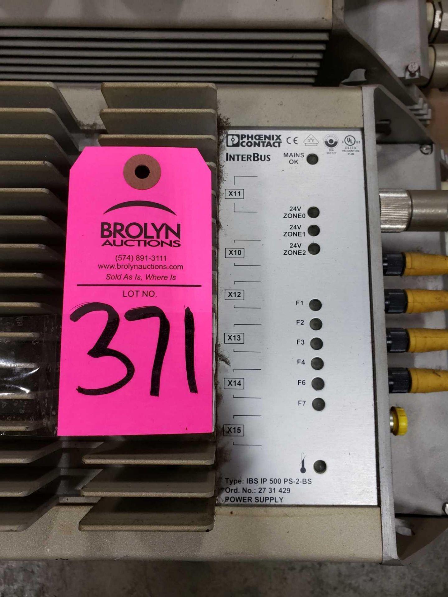 Lot 371 - Phoenix Contact Interbus Type IBS-IP-500-PS-2-BS power supply.