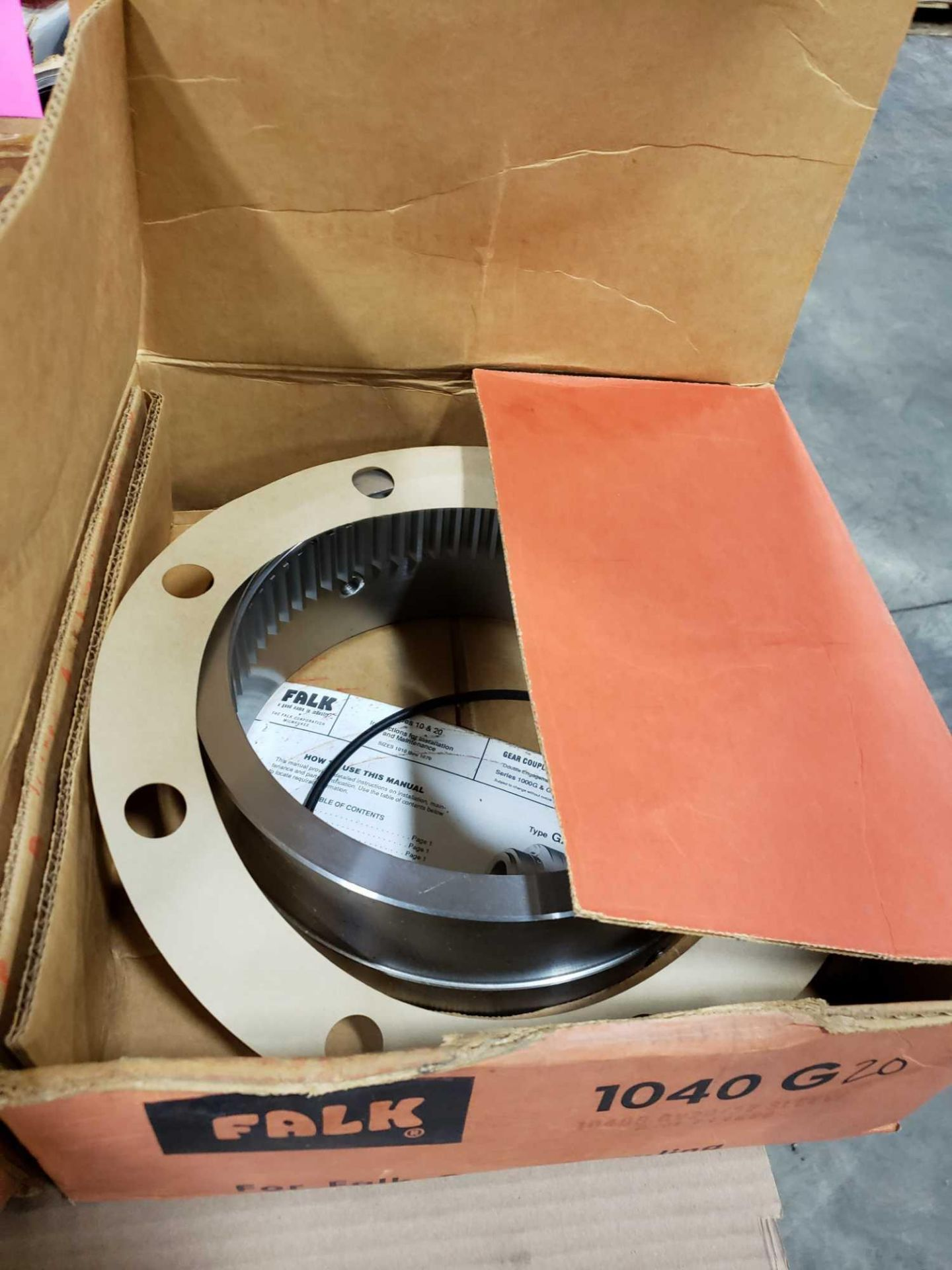 Lot 45 - Falk 1040G20 coupling component. New in box.