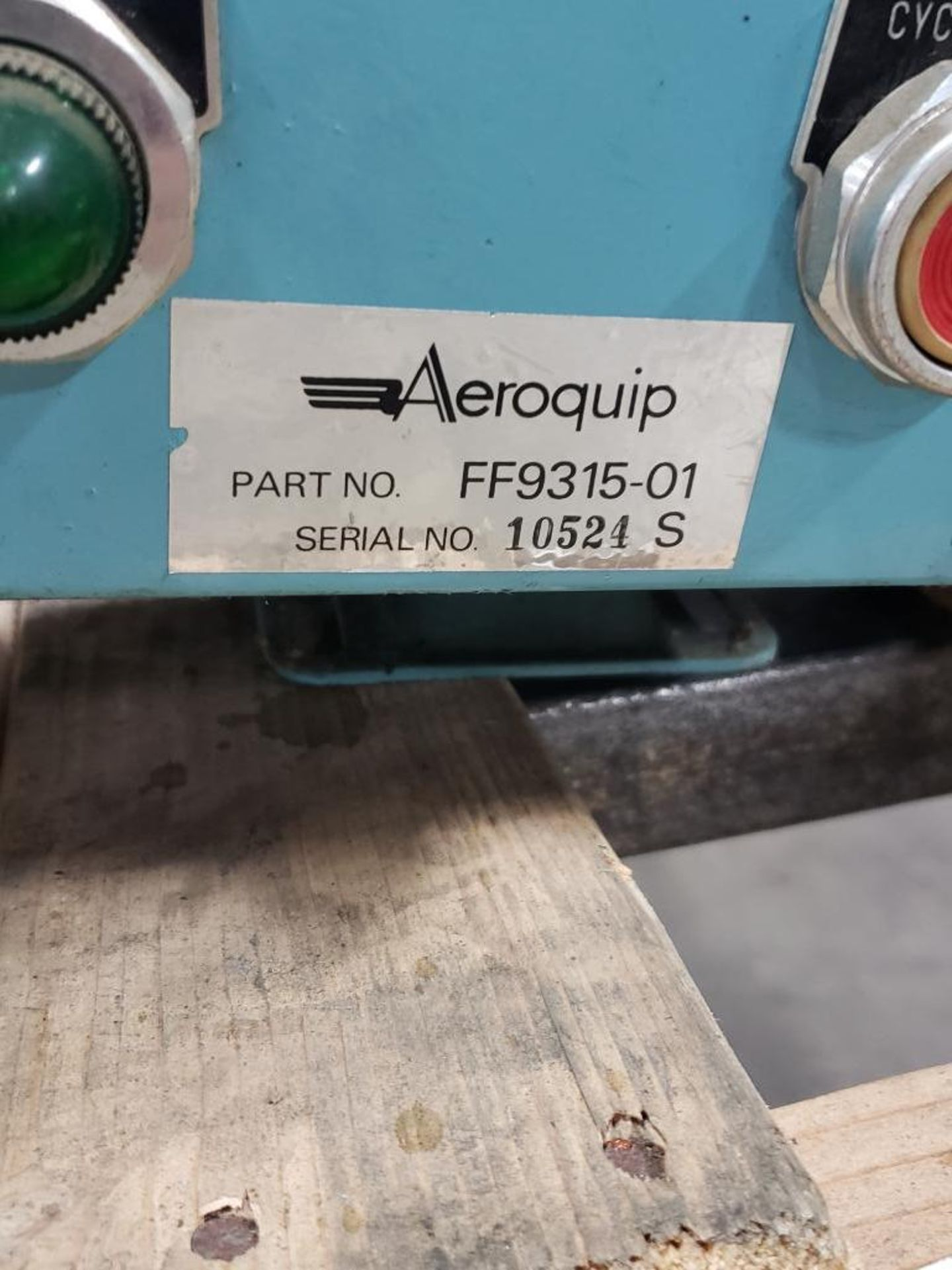 Lot 27 - Aeroquip pump model FF9315-01. Appears to be new with storage wear.