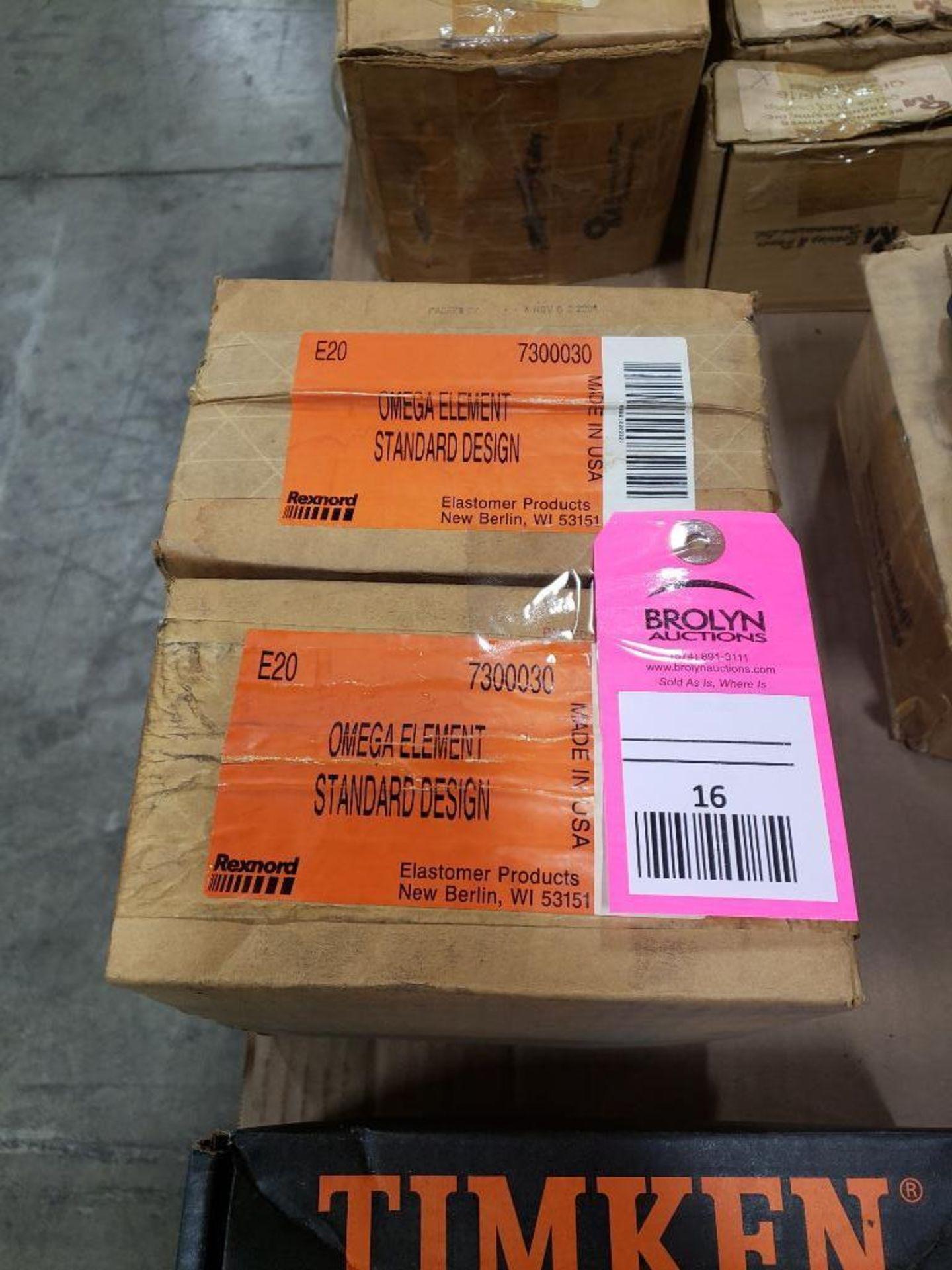 Lot 16 - Qty 2 - Rexnord Omega Element model 7300030, E20 element. New in box.