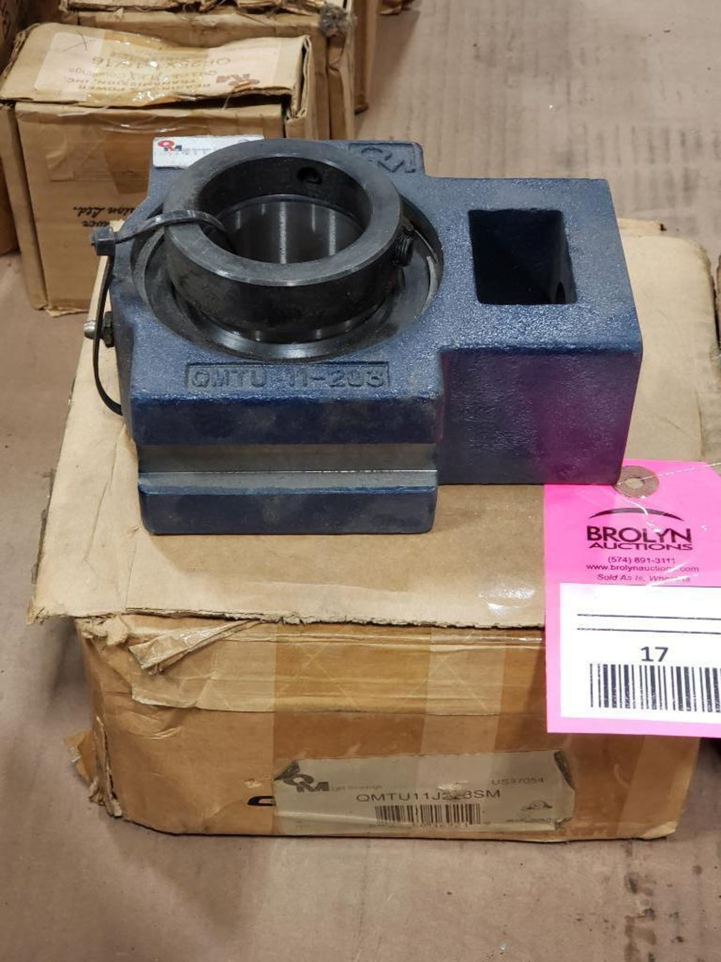 Lot 17 - QM bearing model QMTU11J203SM. New in box.