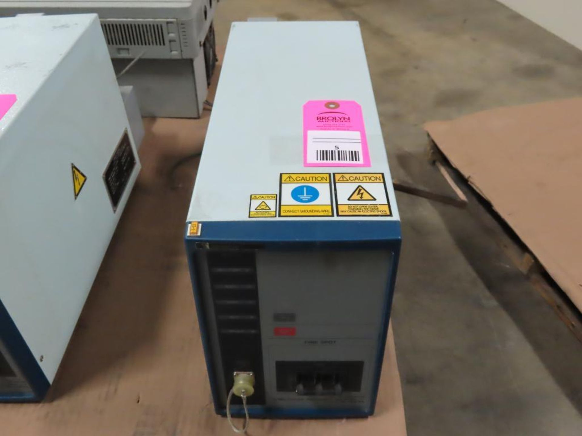 Lot 5 - Miyachi Technos welding power supply type IS-427A-00-00, 27.1kVA max, 540v output.