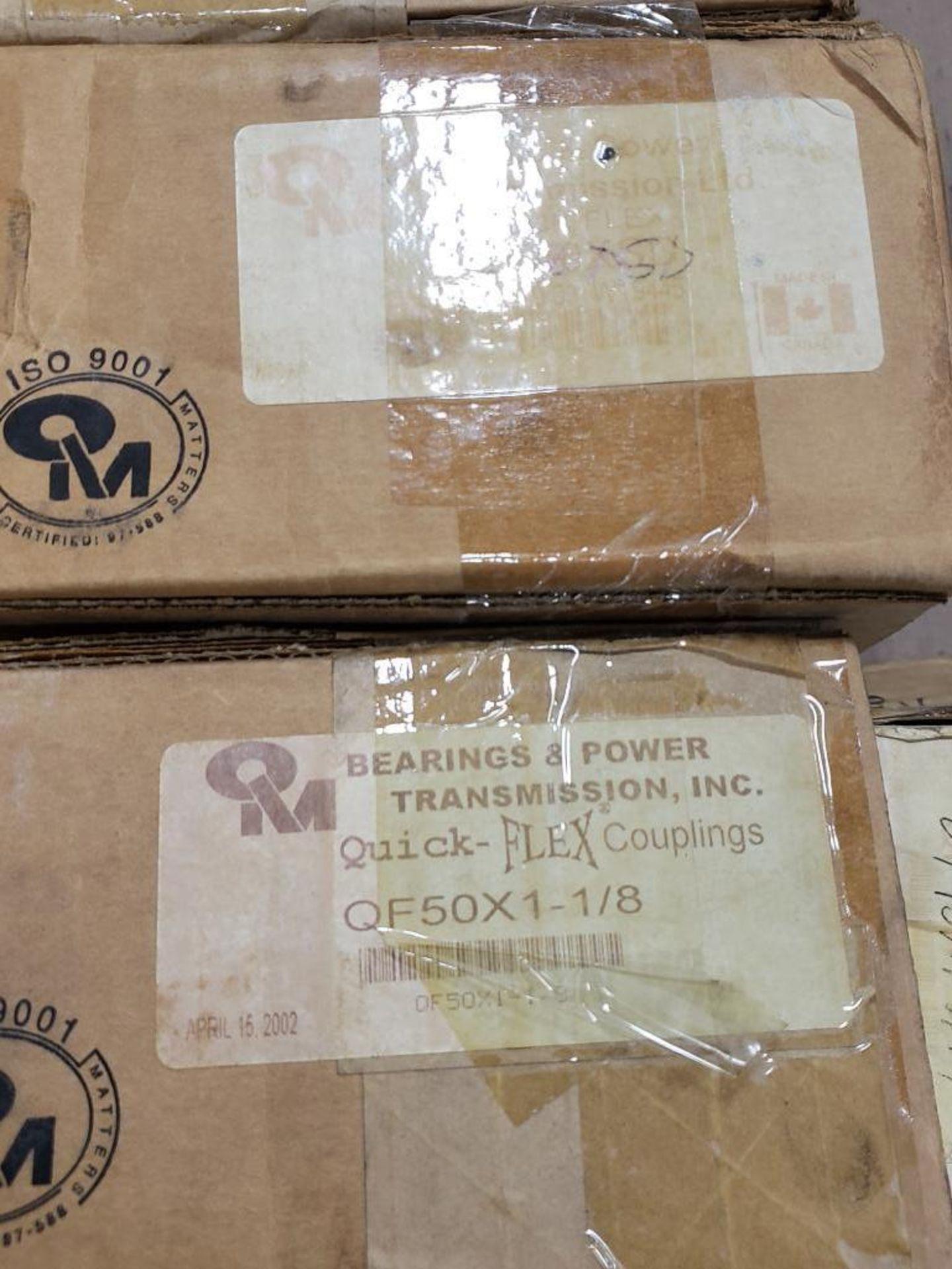 Lot 23 - Qty 6 - Assorted QM bearing brand quick flex parts. New in box.