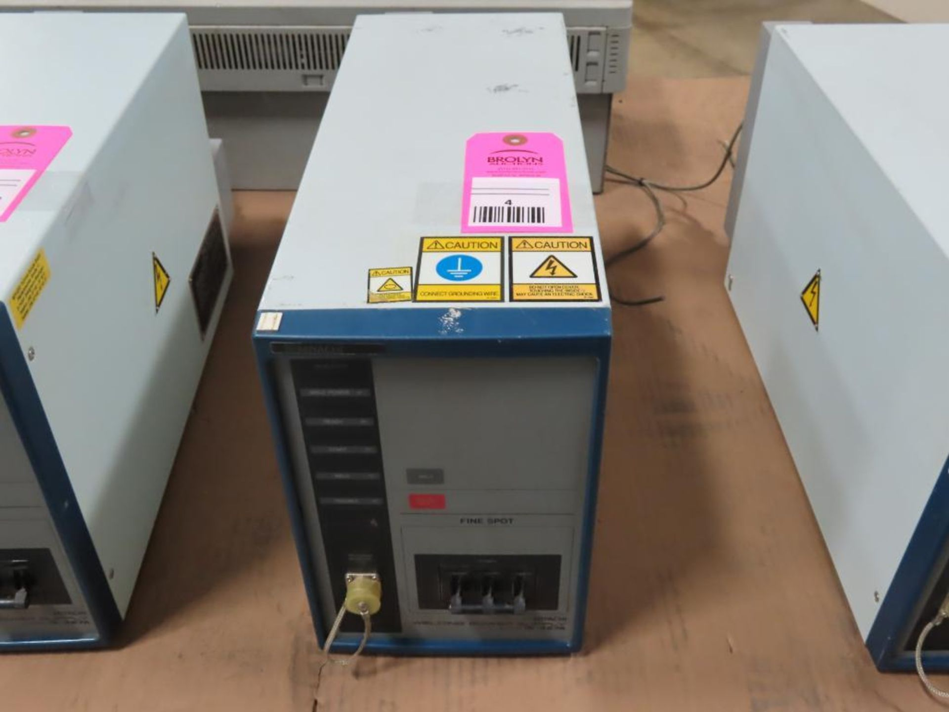 Lot 4 - Miyachi Technos welding power supply type IS-427A-00-00, 27.1kVA max, 540v output.