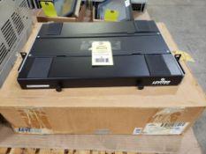 Leviton 24 port rack Catalog 5P330-HB. New in box.