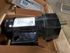 Leeson Speedmaster gear motor mdoel C42T17FZ33A.