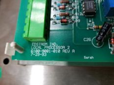 Environmental Watchdog local processor user interface. Edstrom board model 6100-9001-010 rev A.