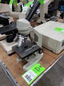 Unbranded microscope.