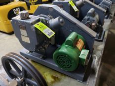 Welch Duo-Seal vacuum pump. Model 1397.